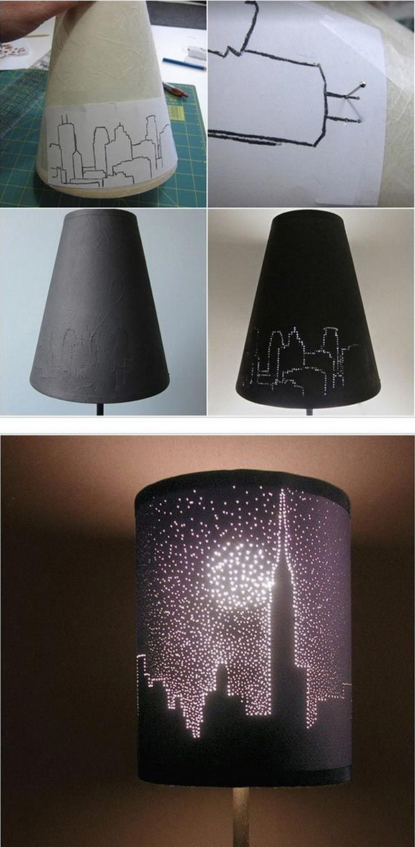 City Lights Lampshade.