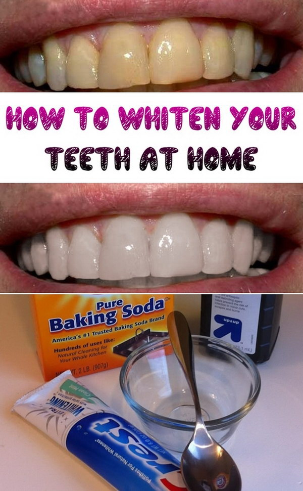 Home Whiten Teeth Baking Soda Urban Home Interior