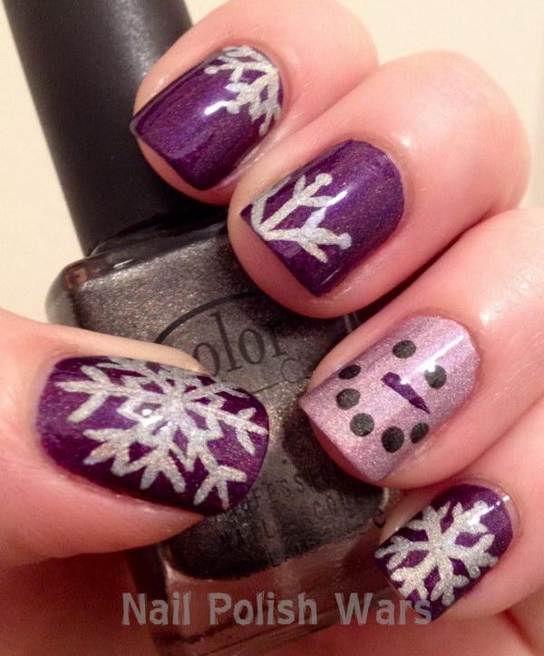 20 Pretty Christmas Nail Art Ideas Designs 2017