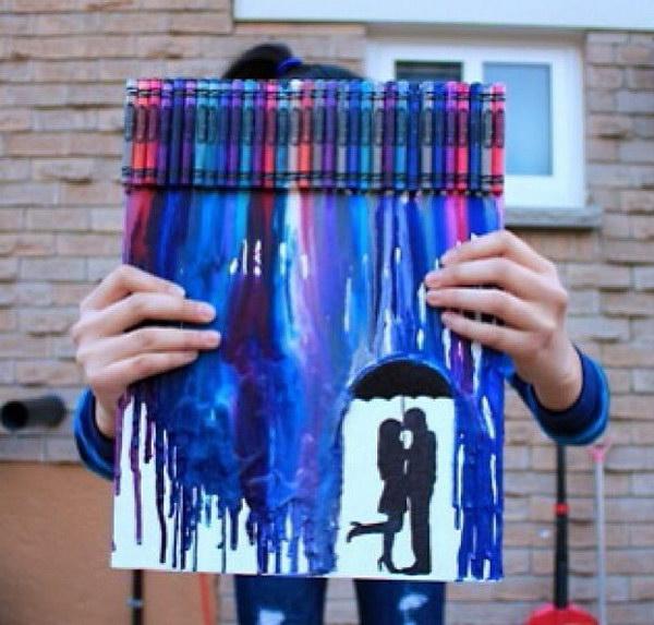 Crayon Bf And Gf Art