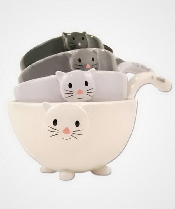 Cat Measuring Cups.