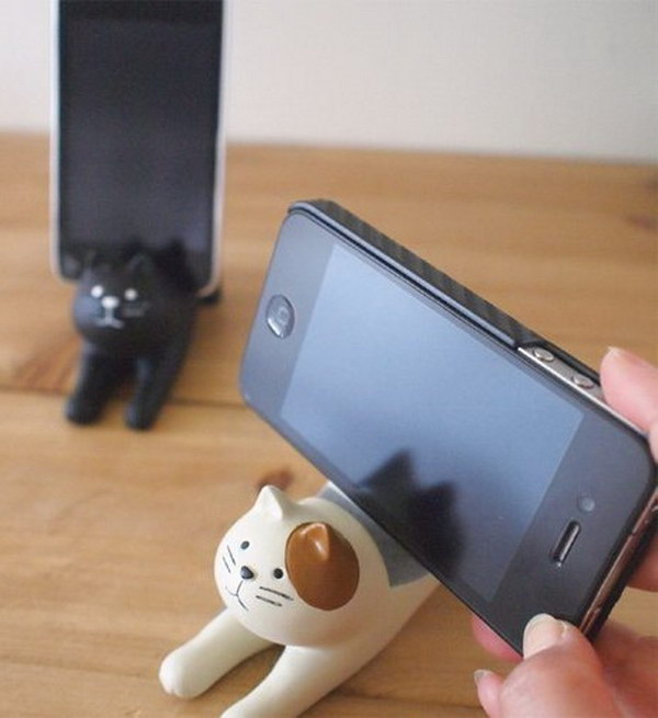 Cat Photo Stand.