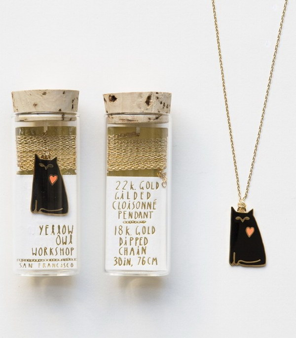 Cat Love Pendant.