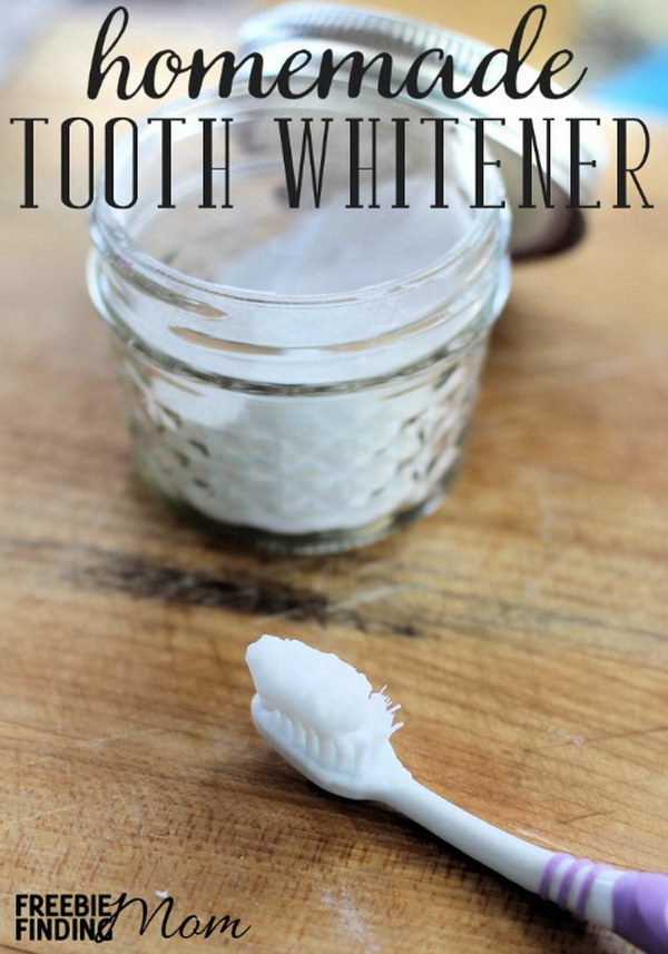 5 homemade teeth whitener