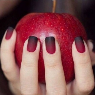 45 Stylish Red And Black Nail Designs