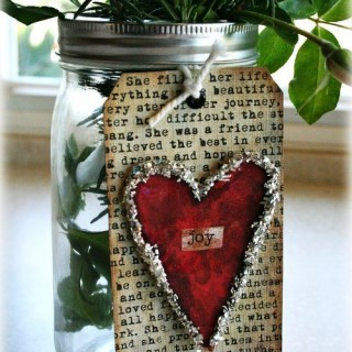 70 DIY Valentine's Day Gifts & Decorations Made From Mason Jars