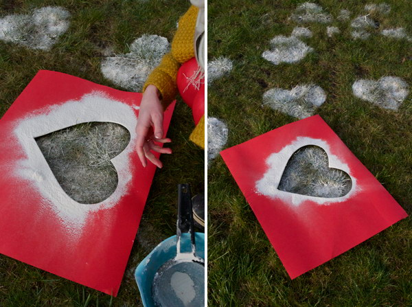 Flour Hearts in The Grass.