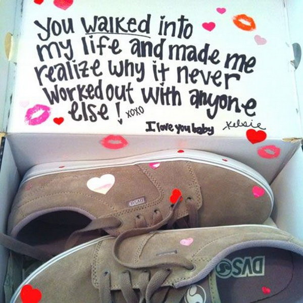 Romantic Shoe Box.