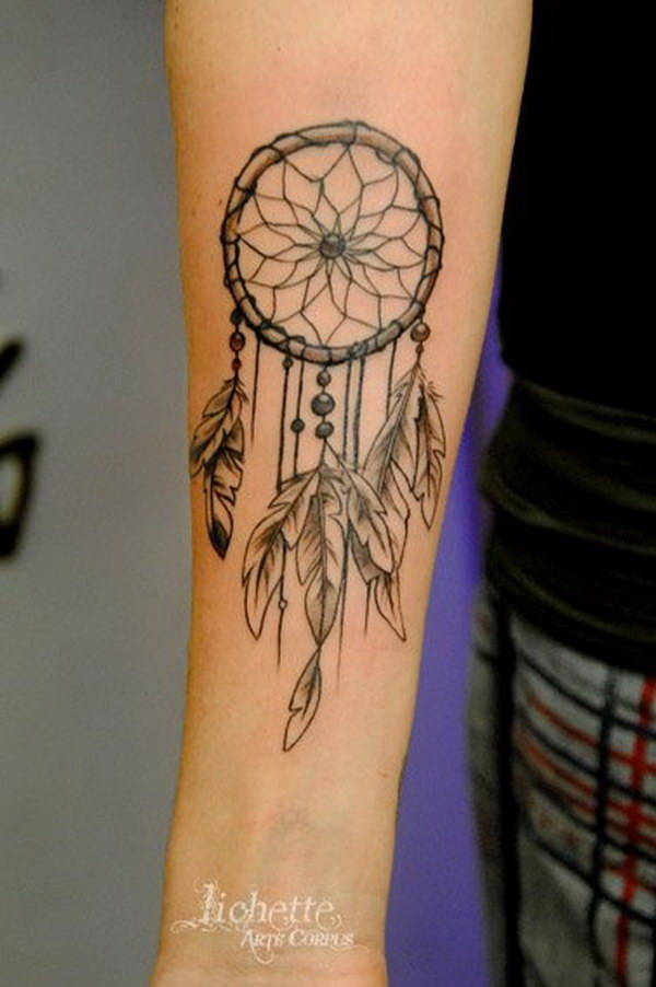 dream catcher tattoo template - 60 dreamcatcher tattoo designs 2017