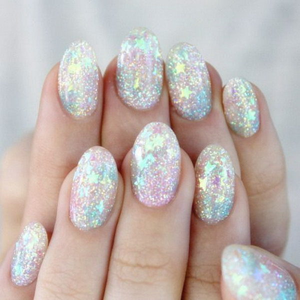 Image result for glitter nails