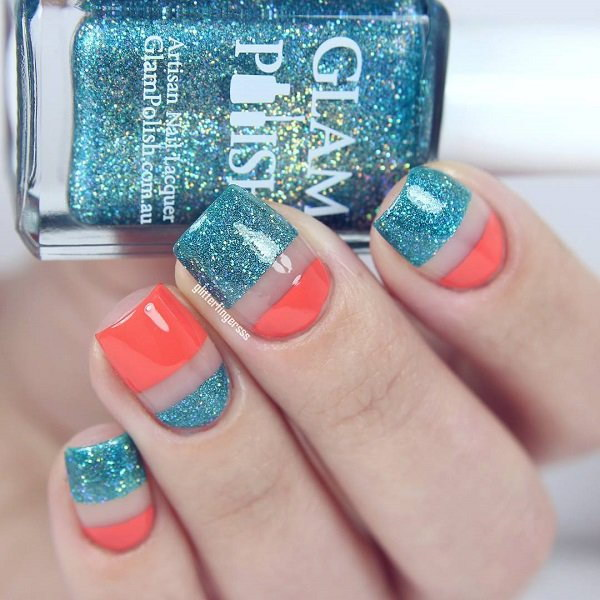 69 Glitter Nail Art Designs