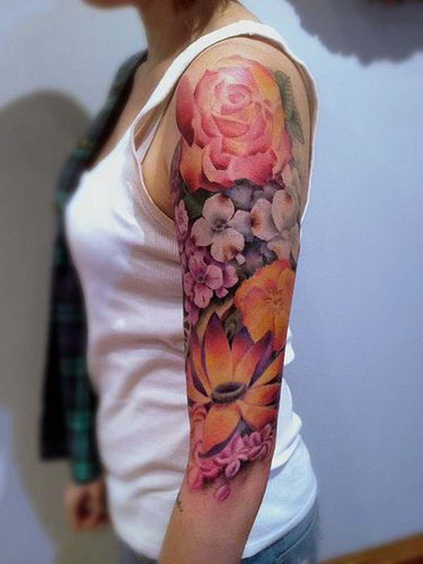 Tattoo Sleeve Ideas  15 Awesome Sleeve Tattoos amp Designs