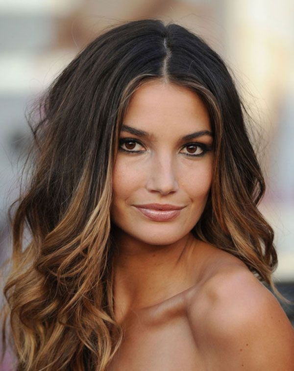 50 stylish highlighted hairstyles for black hair 2017 black hair with caramel highlights pmusecretfo Choice Image