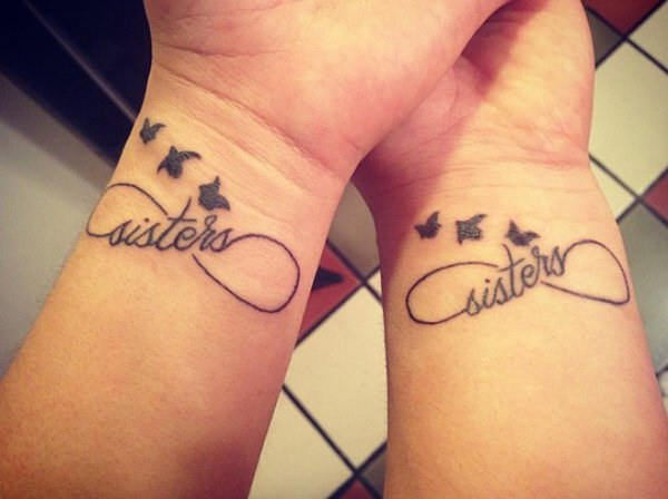 Sister Infinity Tattoo.
