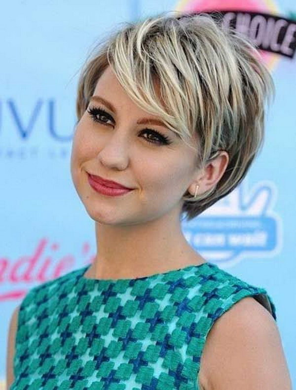 Wondrous 25 Beautiful Short Haircuts For Round Faces Ideastand Short Hairstyles Gunalazisus
