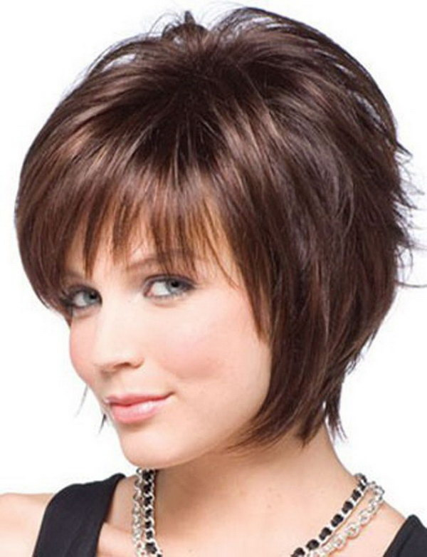 Pleasing 25 Beautiful Short Haircuts For Round Faces Ideastand Short Hairstyles Gunalazisus