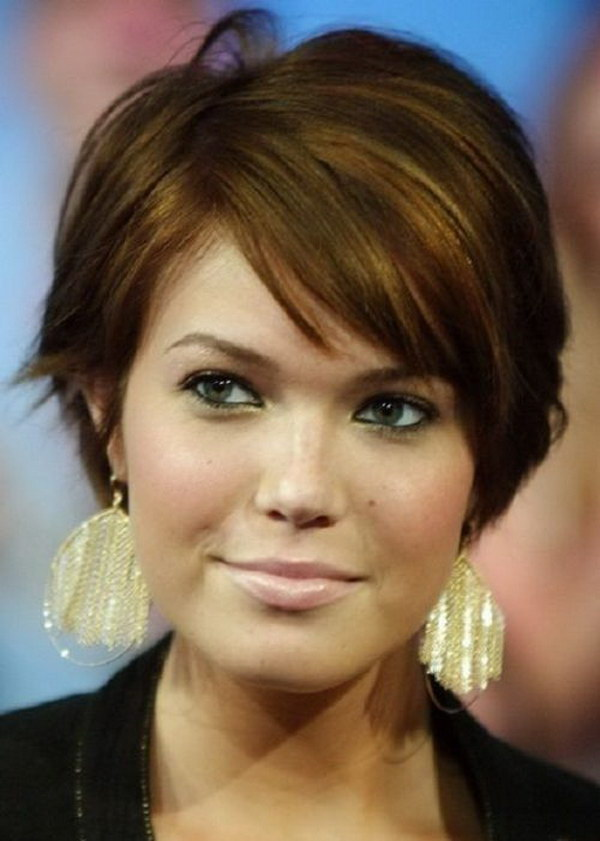 Astounding 25 Beautiful Short Haircuts For Round Faces Ideastand Short Hairstyles For Black Women Fulllsitofus