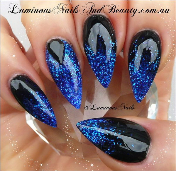 35 Fearless Stiletto Nail Art Designs 2017