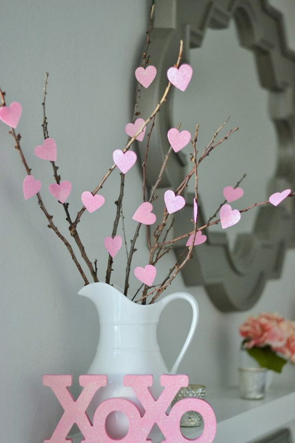 Easy DIY Heart Tree