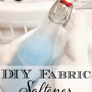 Homemade Fabric Softener Recipes &Tutorials