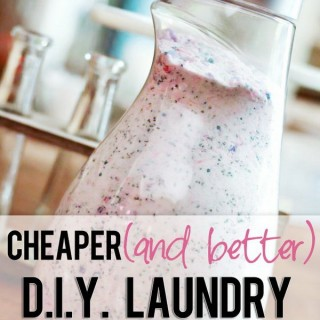 Homemade Laundry Detergent Recipes and Tutorials