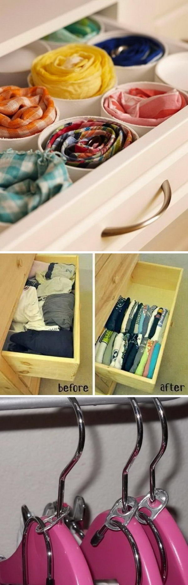 Clever Life Hacks for Your Tiny Closet.