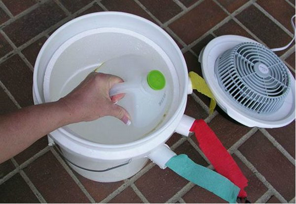 Use this simple DIY air conditioner to survive hot summer and lower your electric bill.