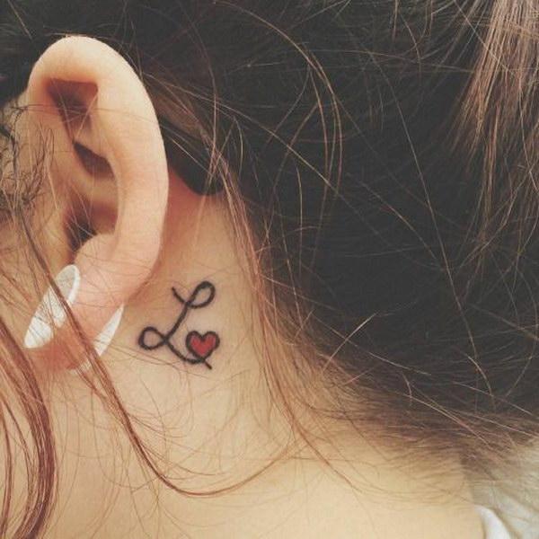 60 pretty designs of ear tattoos 2017. Black Bedroom Furniture Sets. Home Design Ideas