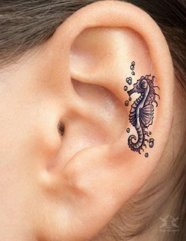 Hippocampal Ear Tattoo.