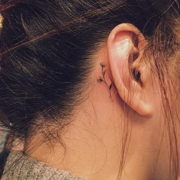 c5a856aff50d3 60+ Pretty Designs of Ear Tattoos 2017