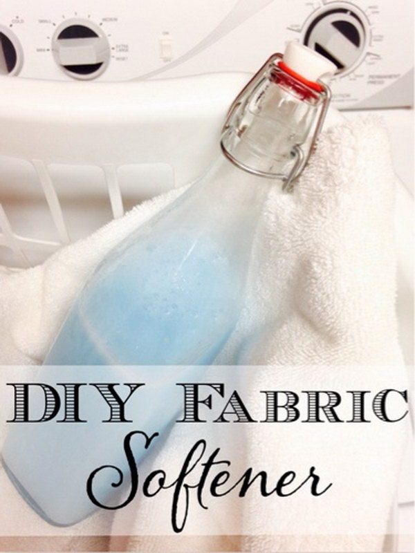 DIY Fabric Softener.