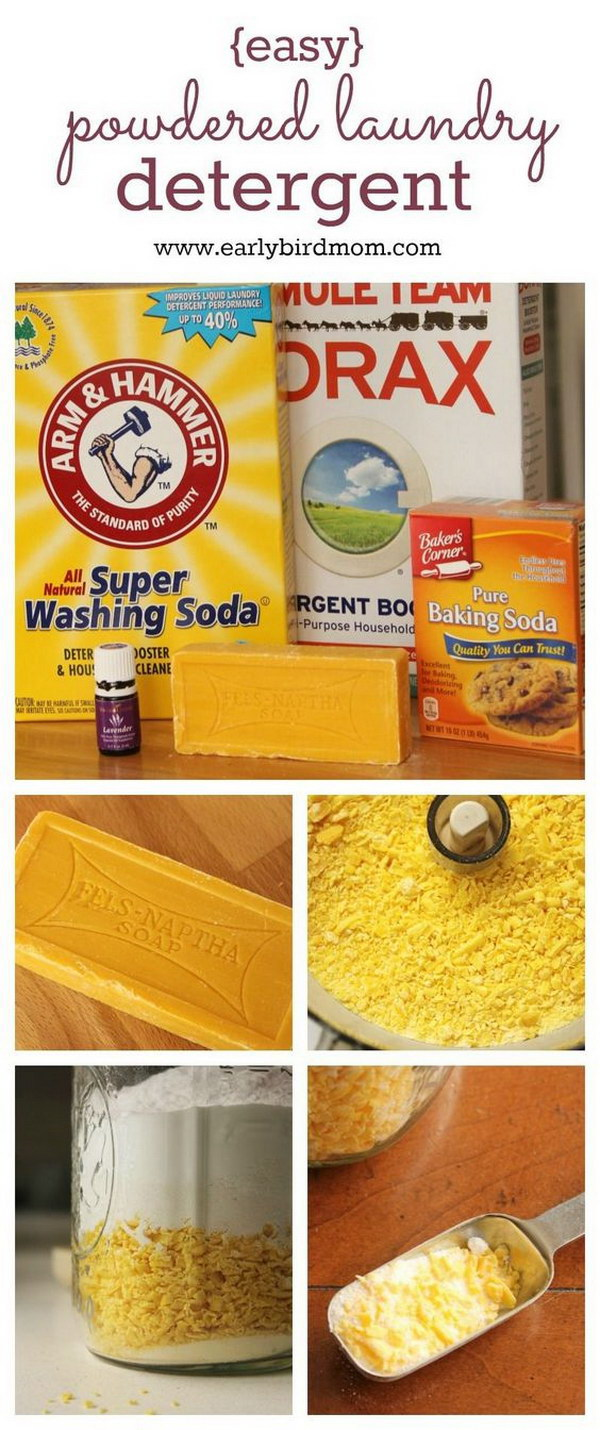 Best Homemade Laundry Detergent.
