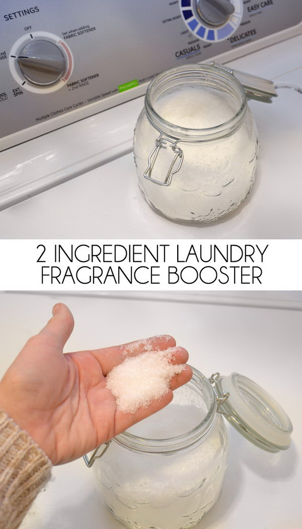 2 Ingredient Laundry Fragrance Booster.