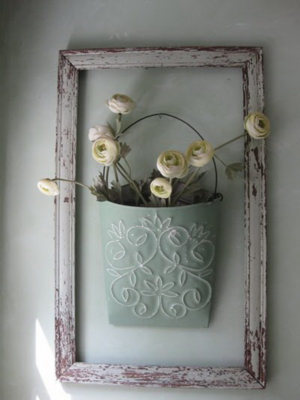 40 shabby chic decor ideas and diy tutorials 2017 for Shabby chic frames diy
