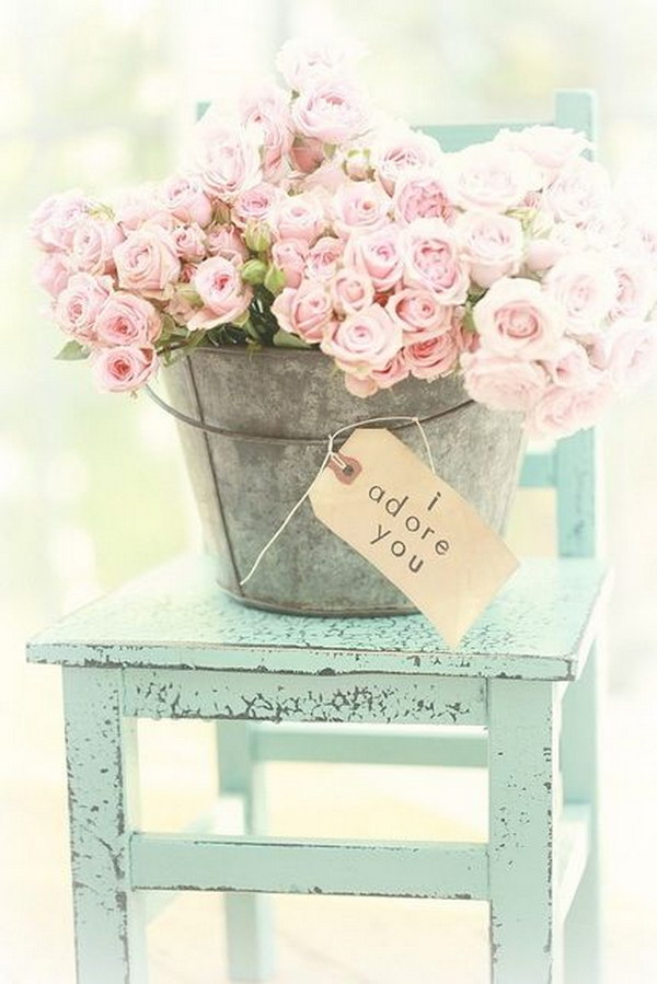 40 shabby chic decor ideas and diy tutorials 2017 for Decoration jardin shabby