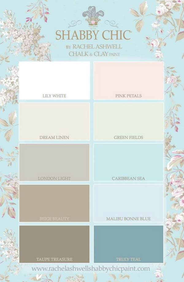shabby chic kitchen paint colors 40 shabby chic decor ideas and diy tutorials 2017 7908