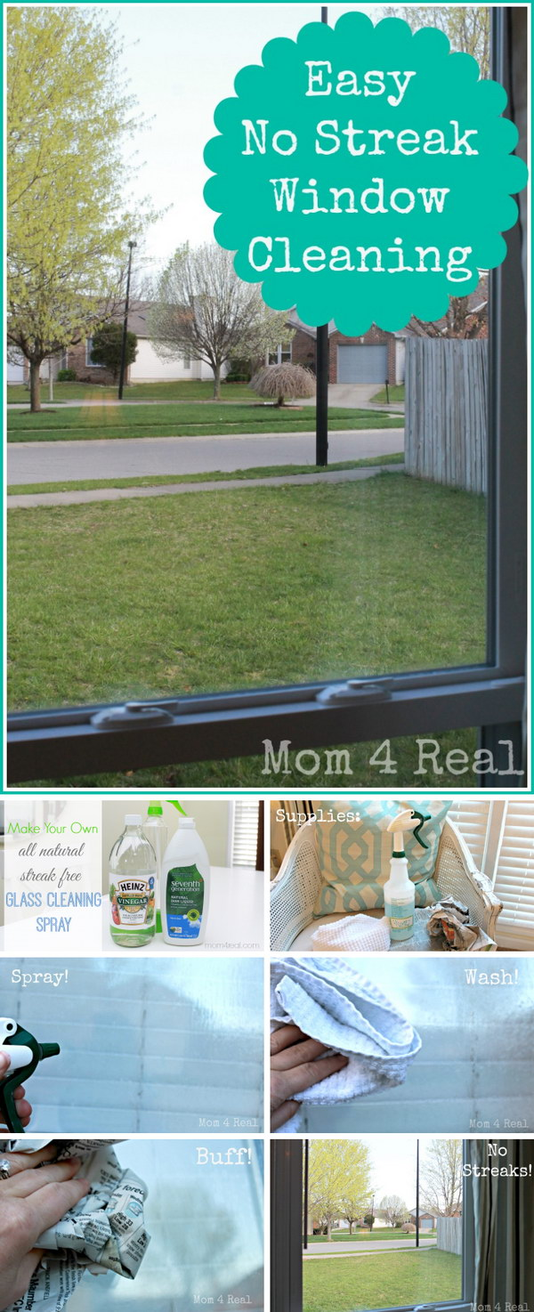 Use Newspaper to Get Streak Free Windows.