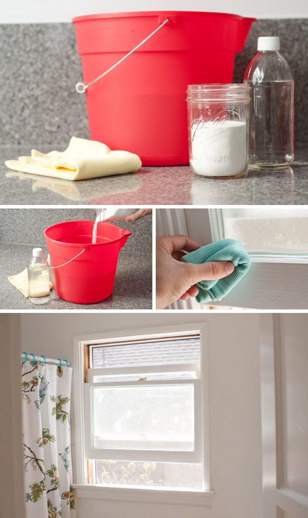 How to Remove Mold on Window Sills.