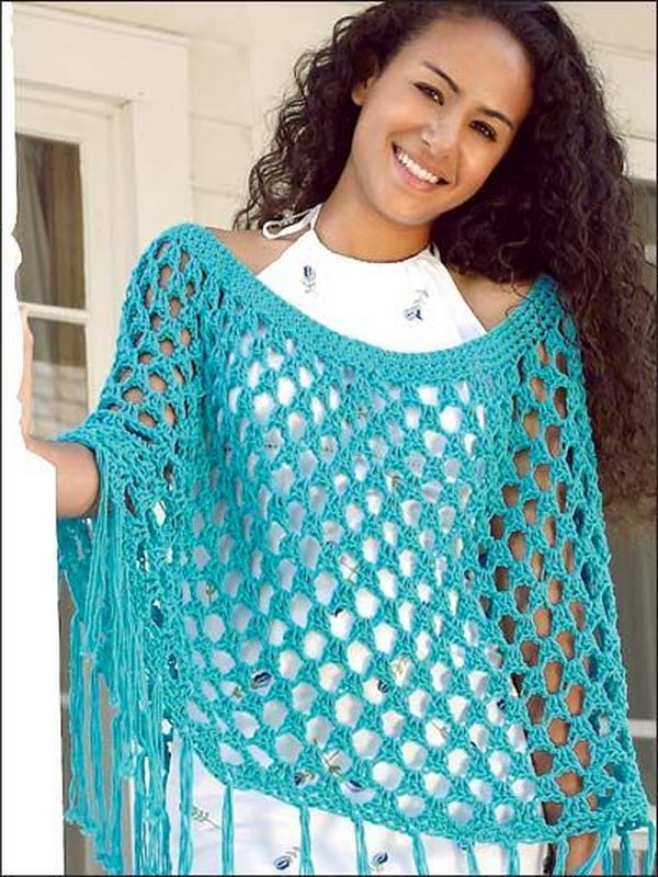 Free Crochet Shawl Patterns For Spring : Summer Crochet Projects With Free Patterns And Tutorials 2017