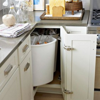 Kitchen Corner Cabinet Storage Ideas
