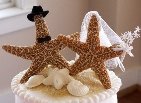 Starfish Cake Topper.