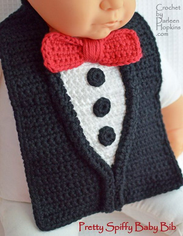 Crochet Baby Bib Patterns : 20+ Adorable Crochet Patterns for Babies