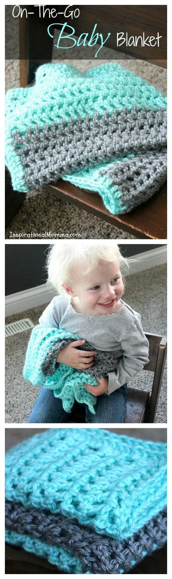 On The Go Crochet Baby Blanket.