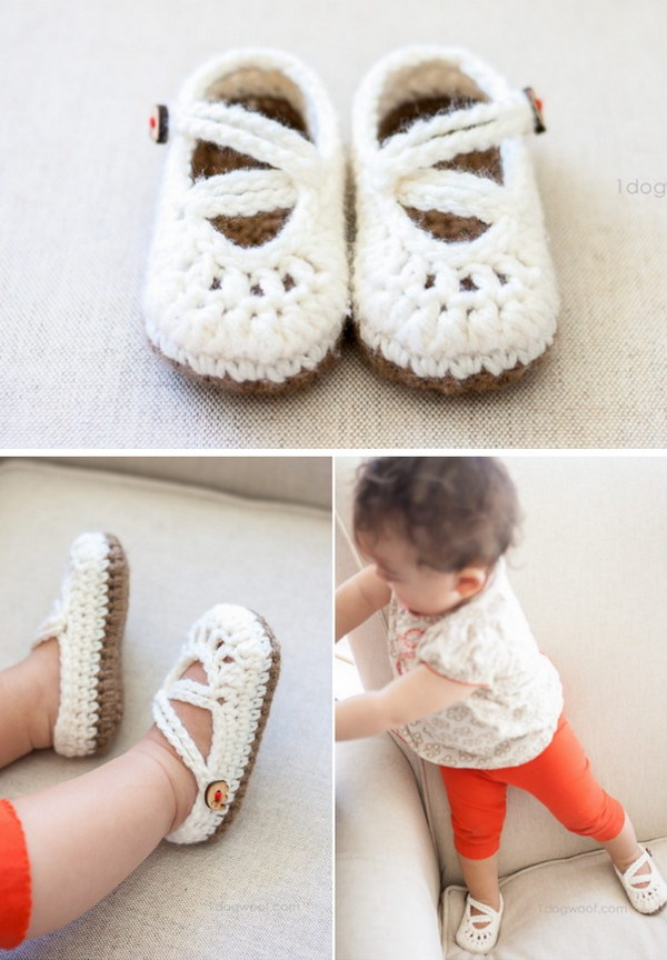 Crochet Baby Mary Jane Pattern : 20+ Adorable Crochet Patterns for Babies