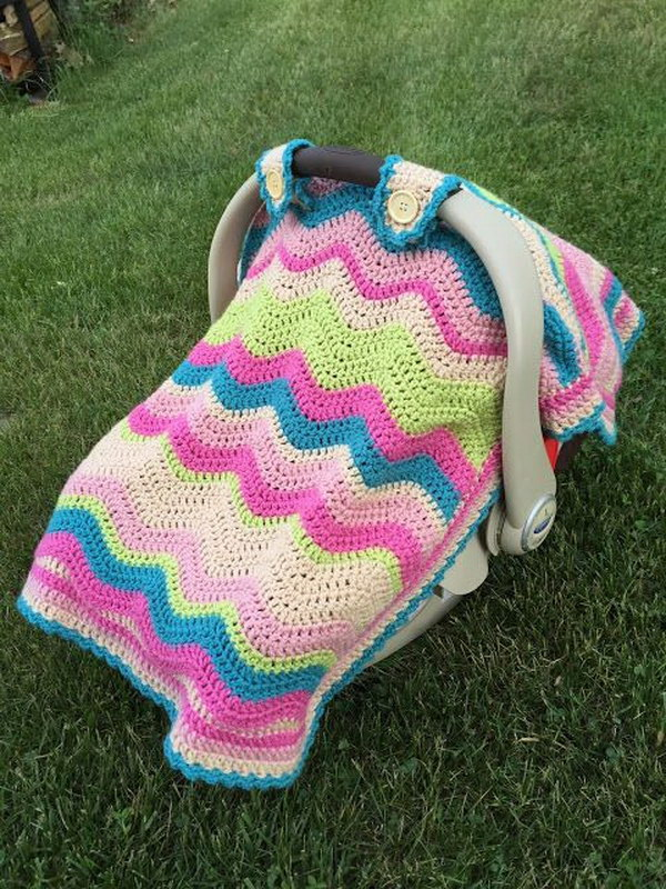 Free Crochet Pattern Baby Car Seat Cover : 20+ Adorable Crochet Patterns for Babies