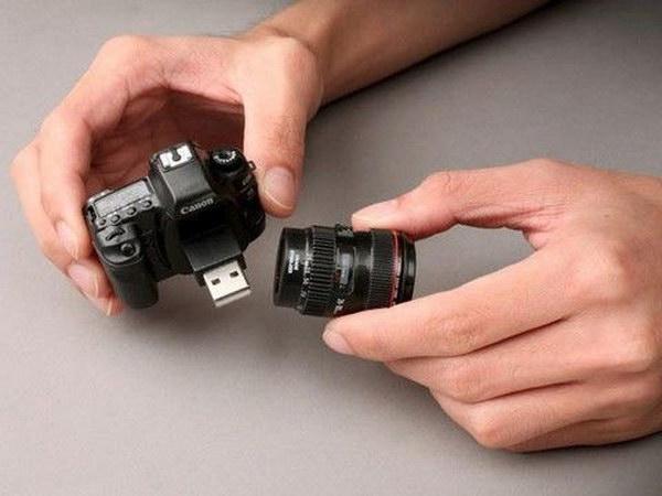 Camera USB Flash Drive.