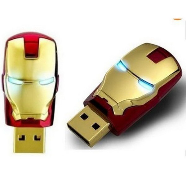Iron Man Mask USB Flash Drive.