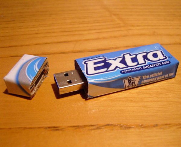 Chewing Gum USB.