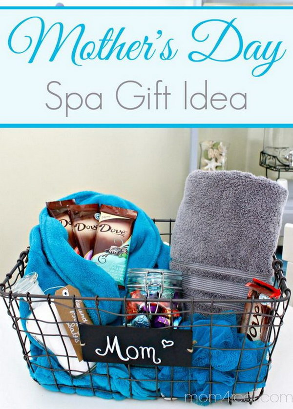 Mother's Day Spa Gift Basket.