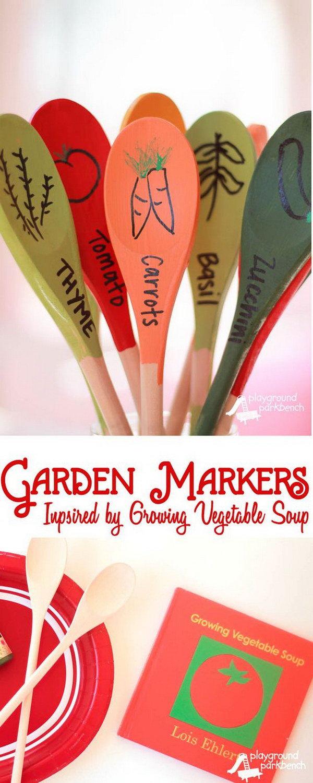 DIY Garden Markers.